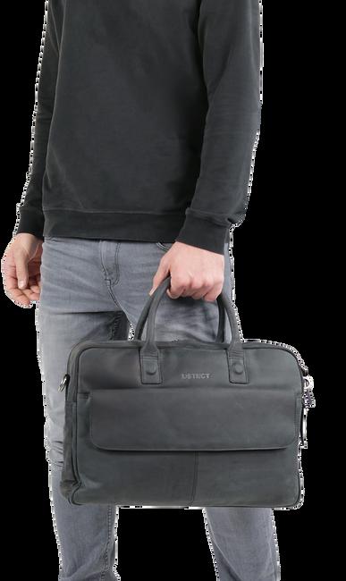 Zwarte DSTRCT Laptoptas BUSINESS LAPTOP 17 INCH - large