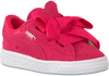 Roze PUMA Sneakers SUEDE HEART VALENTINE JR  - small