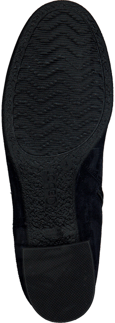 Blauwe GABOR Enkellaarsjes 92.792 - large