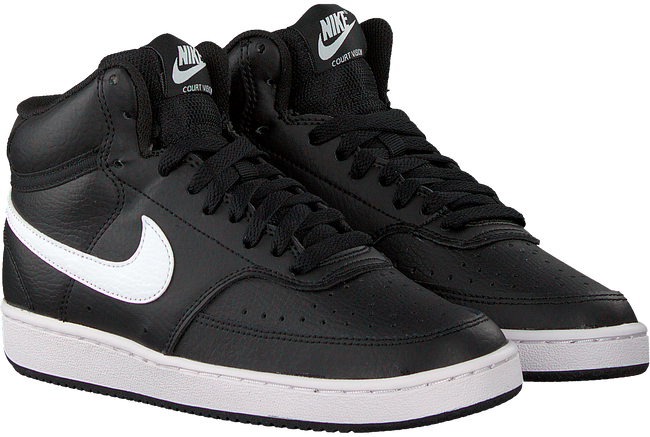 Zwarte NIKE Lage sneakers COURT VISION MID WMNS  - large