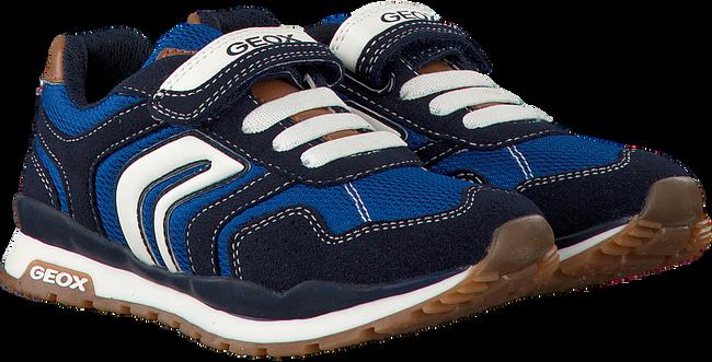 blauwe GEOX Sneakers J7215B  - large