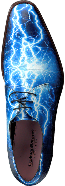 Blauwe FLORIS VAN BOMMEL Nette schoenen 14267  - large