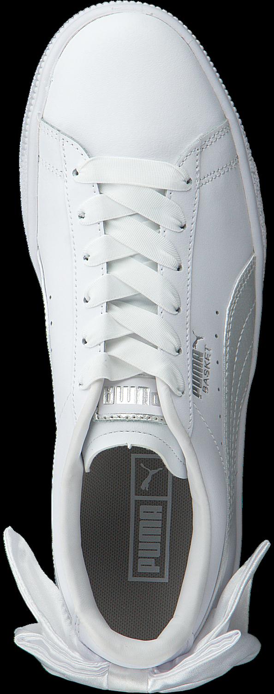 witte PUMA Sneakers BASKET BOW JR Omoda