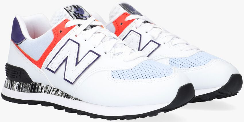 Witte NEW BALANCE Lage sneakers WL574  - larger