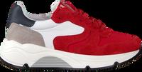 Rode HIP Lage sneakers H1343  - medium