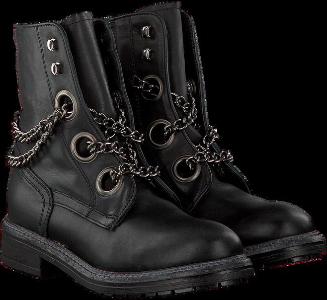 Zwarte OMODA Biker boots P15073  - large