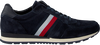 Blauwe TOMMY HILFIGER Sneakers LUXERY SUEDE RUNNER  - small