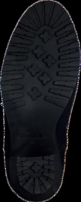 Zwarte SHABBIES Enkellaarsjes 228127  - large