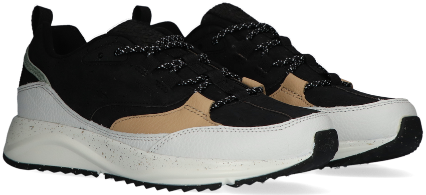 Zwarte WODEN Lage sneakers MALOU CORK  - larger