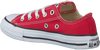 Rode CONVERSE Sneakers CHUCK TAYLOR AS OX INF - small