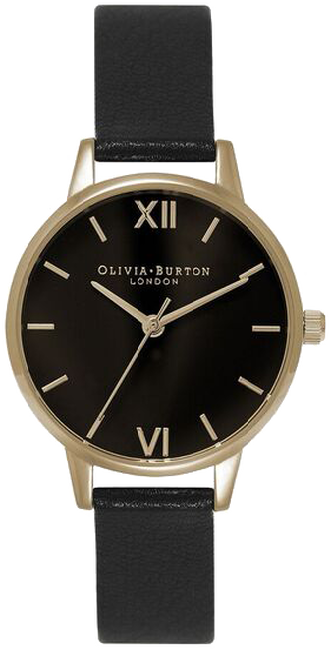 Zwarte OLIVIA BURTON Horloge MIDI DIAL - large