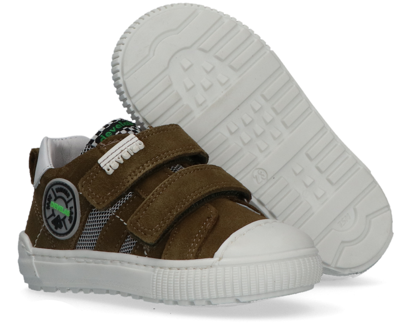 Groene DEVELAB Lage sneakers 41541  - larger
