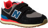 Zwarte NEW BALANCE Lage sneakers YV574/IV574  - small