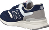 Blauwe NEW BALANCE Sneakers PZ997 M  - small