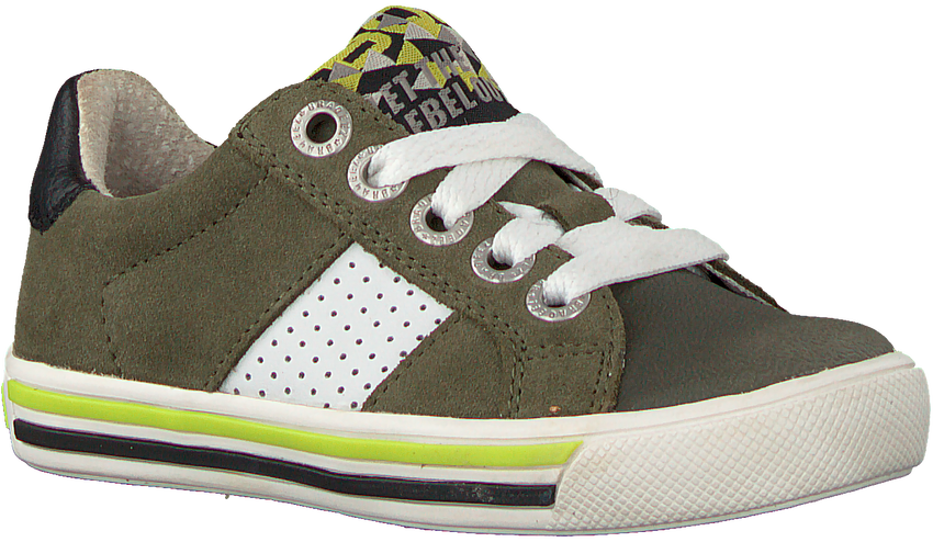 Groene BRAQEEZ Lage sneakers DICKY DAY  - larger