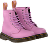 Roze DR MARTENS Veterboots DELANEY/BROOKLY - small