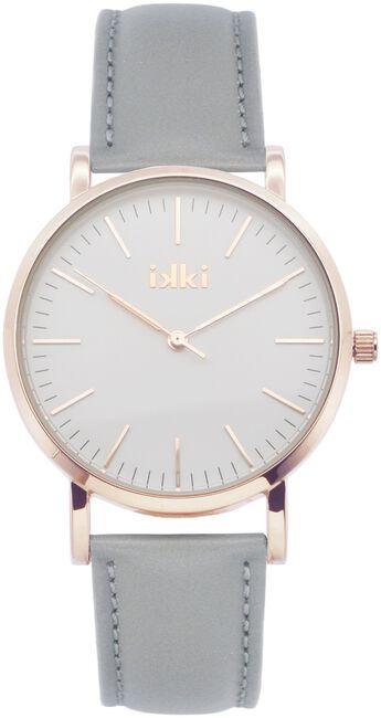 Grijze IKKI Horloge JANET - large