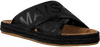 Zwarte SCOTCH & SODA Slippers ANGLE  - small
