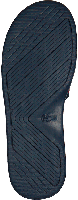 Blauwe LACOSTE Slippers L.30 SLIDE - large