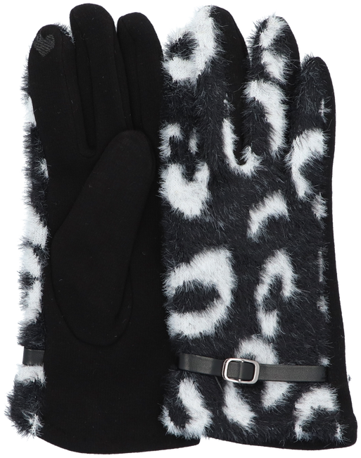 Zwarte Yehwang Handschoenen SPOTTED  - large