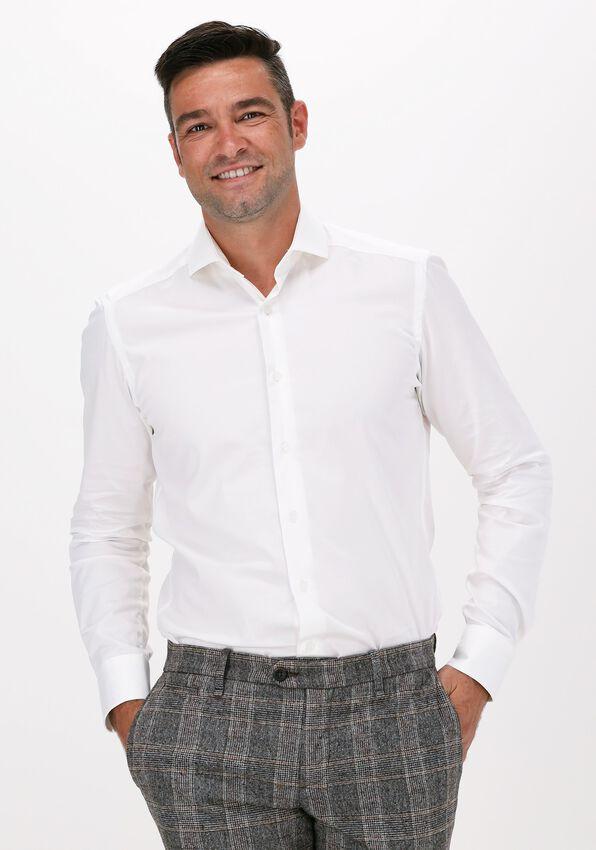 Beige PORTO MILANO Klassiek overhemd MILANO  - larger