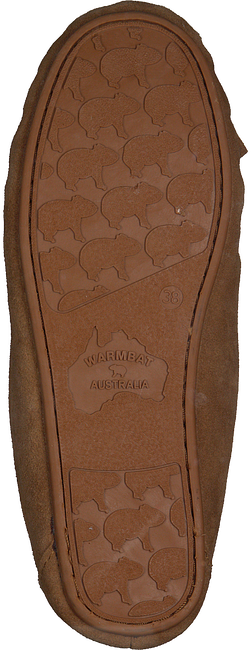 Cognac WARMBAT Pantoffels FJORDA - large