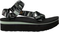 Zwarte TEVA Sandalen W FLATFORM UNIVERSAL  - medium