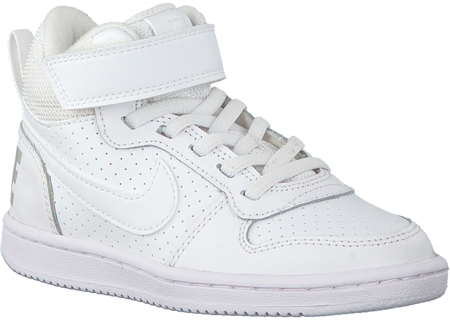 Witte NIKE Sneakers COURT BOROUGH MID KIDS  - large