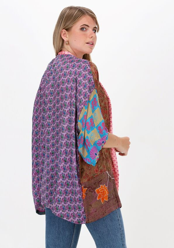 Multi SISSEL EDELBO Kimono LOTUS SHORT MIX KIMONO - larger