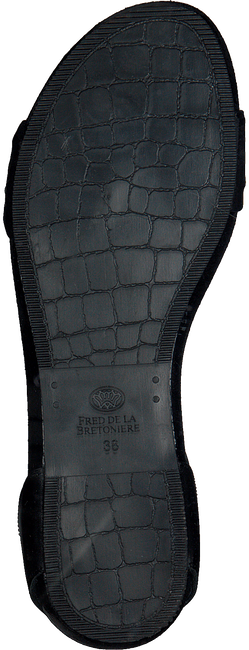 Zwarte FRED DE LA BRETONIERE Sandalen 170010069  - large