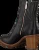 Zwarte SHABBIES Enkellaarsjes 183020153 SHS0427  - small