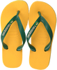 Gele HAVAIANAS Slippers BRASIL LOGO KIDS  - small