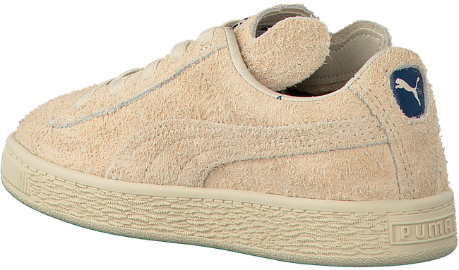 Beige PUMA Sneakers PUMA X TC BASKET FURRY  - large