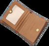 Cognac MICHAEL KORS Portemonnee CARRYALL CARD CASE - small