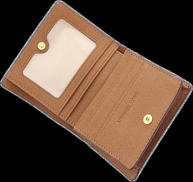 Cognac MICHAEL KORS Portemonnee CARRYALL CARD CASE - large