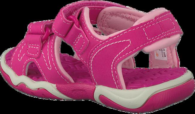 Roze TIMBERLAND Sandalen ADVENTURE SEEKER 2 STRAP KIDS  - large