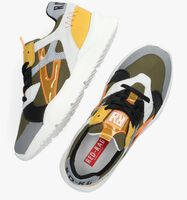 Groene RED-RAG Lage sneakers 13093  - medium