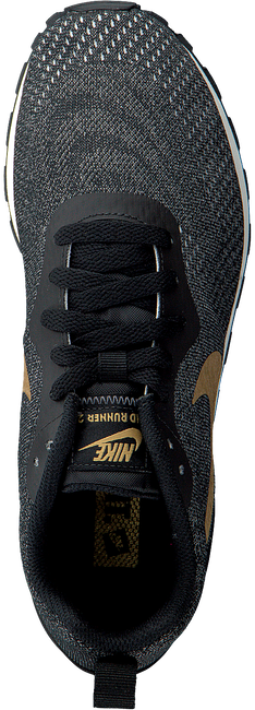 Zwarte NIKE Sneakers MD RUNNER DAMES - large