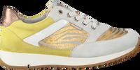 Gele DEVELAB Lage sneakers 42564  - medium