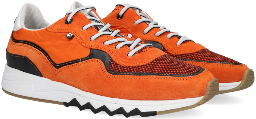 Oranje FLORIS VAN BOMMEL Lage sneakers 16392  - larger