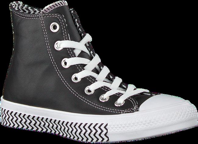 Zwarte CONVERSE Sneakers CHUCK TAYLOR ALL STAR HI DAMES  - large