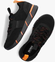 Zwarte BOSS KIDS Lage sneakers BASKETS  - medium