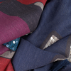 Blauwe I LOVE MY MOMENT Sjaal DESIE - small