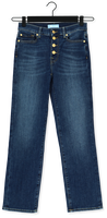 Blauwe 7 FOR ALL MANKIND Straight leg jeans THE STRAIGHT CROP
