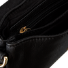 Zwarte DEPECHE Schoudertas SMALL BAG  - small