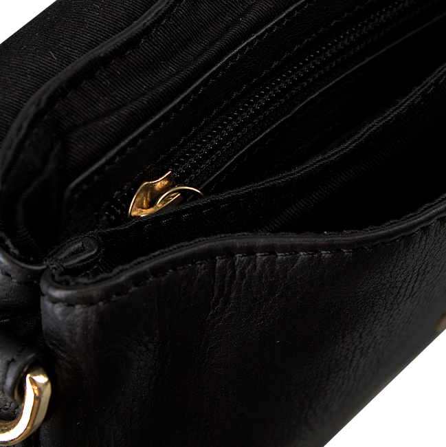 Zwarte DEPECHE Schoudertas SMALL BAG  - large