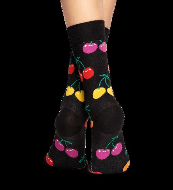 Zwarte HAPPY SOCKS Sokken CHERRY - large