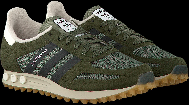 adidas sneakers donkergroen