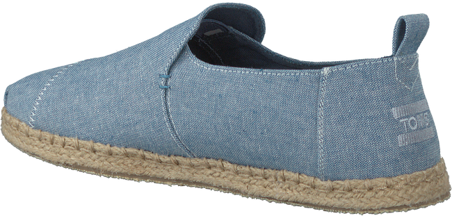 Blauwe TOMS Instappers MN DECNALP ESP  - large