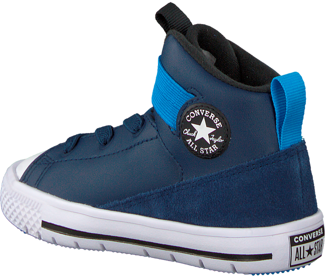 Blauwe CONVERSE Sneakers CHUCK TAYLOR HIGH STREET KIDS - large